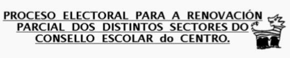 RENOVACIÓN CONSELLOS ESCOLARES 2014