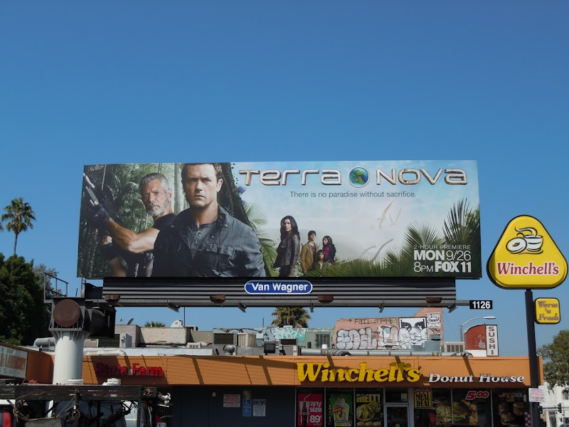 Terra Nova billboard