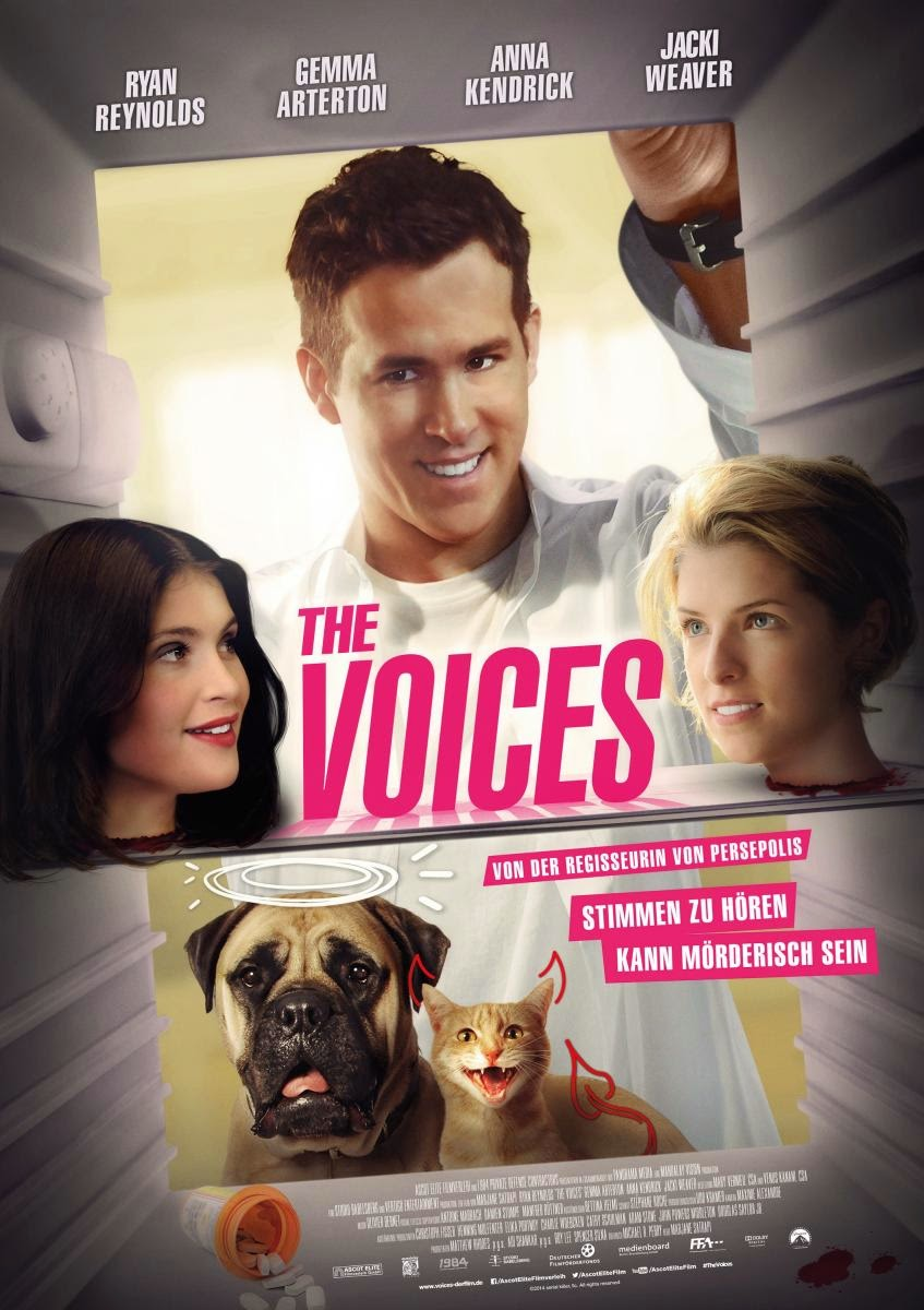 The Voices (Web-DL 720p Dual Latino / Ingles) (2014)