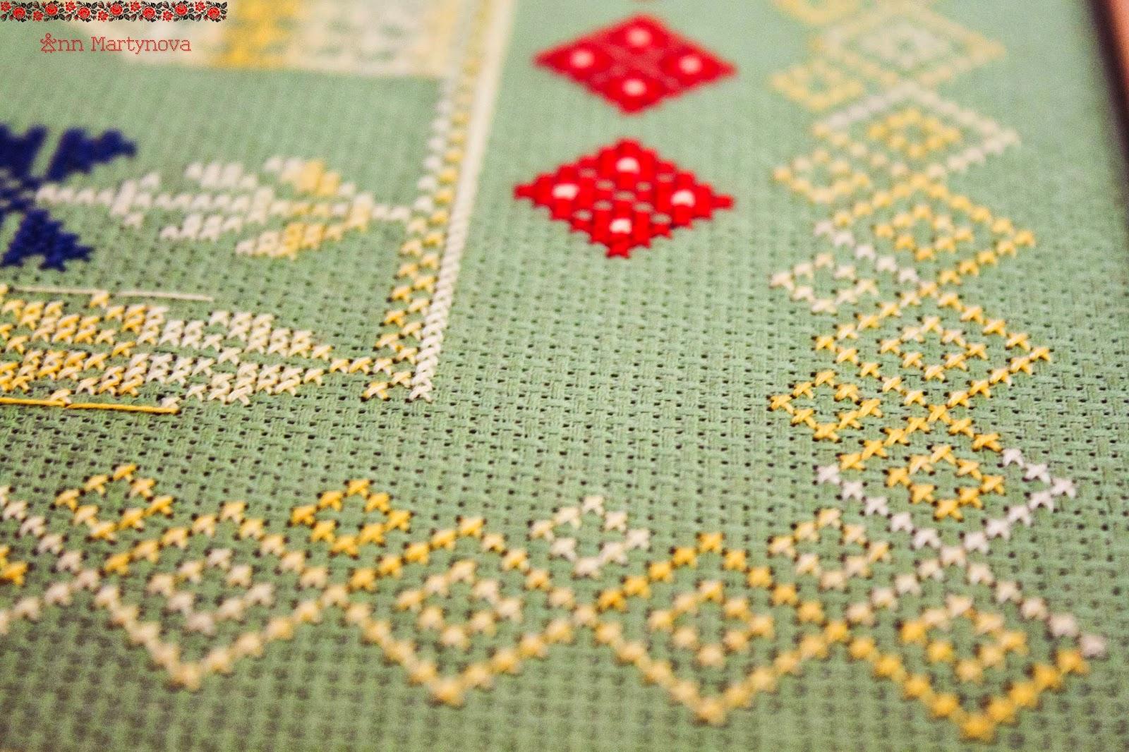 схема вышивки домашнего оберега