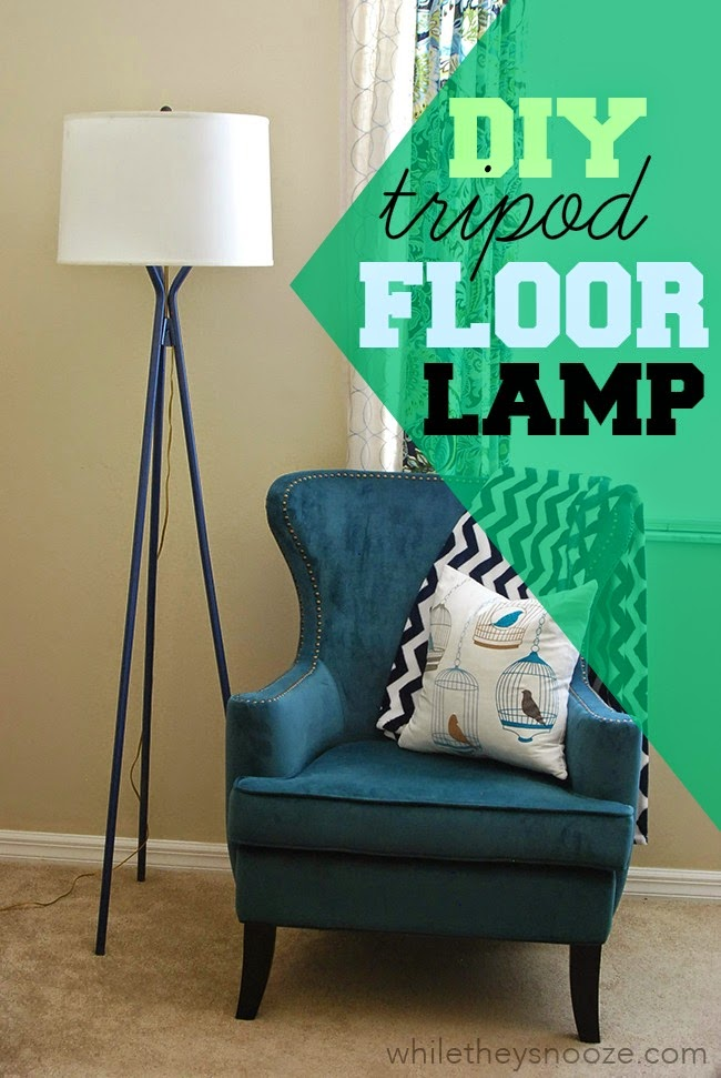 While They Snooze DIY Floor Lamp