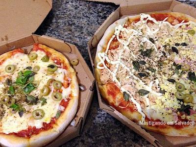 Pizzeria Barbato: Pizzas no sabor Pugliese e nos sabores Frango com Catupiry e Portuguesa