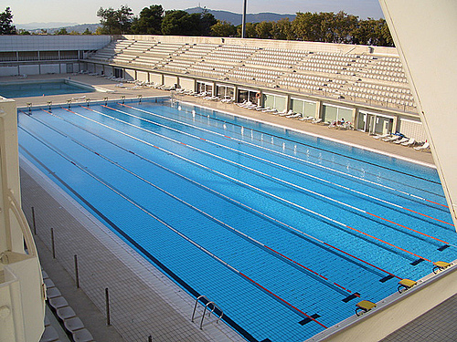 olympic size swimming pool wallpaper olympicsize at to decorating