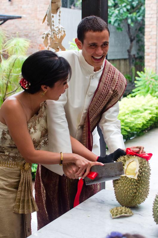 a durian wedding interview