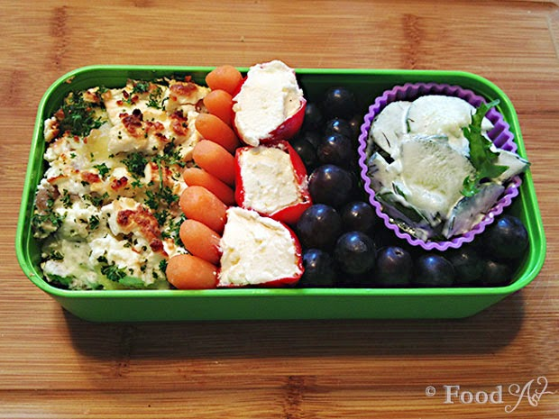 Mexicanisches Bento Tutorial Schritt 9 - Food Art