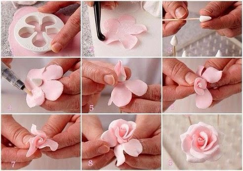Цветы из мастики своими руками для начинающих фото - Pizza e Birra