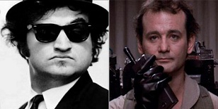John Belushi Bill Murray Peter Venkman