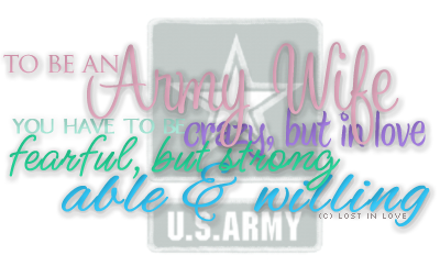 Thoughts As An Army Wife: June 2011