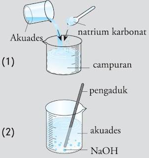 percobaan reaksi eksoterm dengan reaksi endoterm