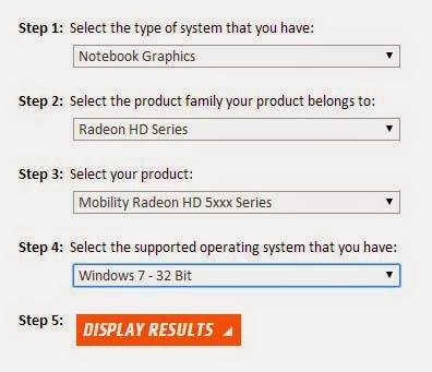 скачать драйвер ati mobility radeon hd 5470 для Windows 7 32 bit