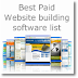 15 Best paid without coding website creation software