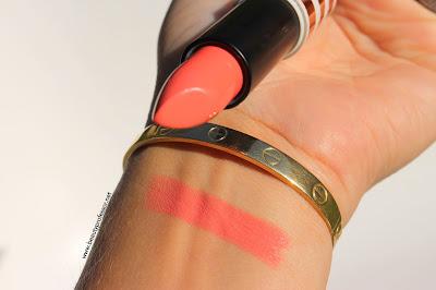 topshop ohh la la lipstick swatch