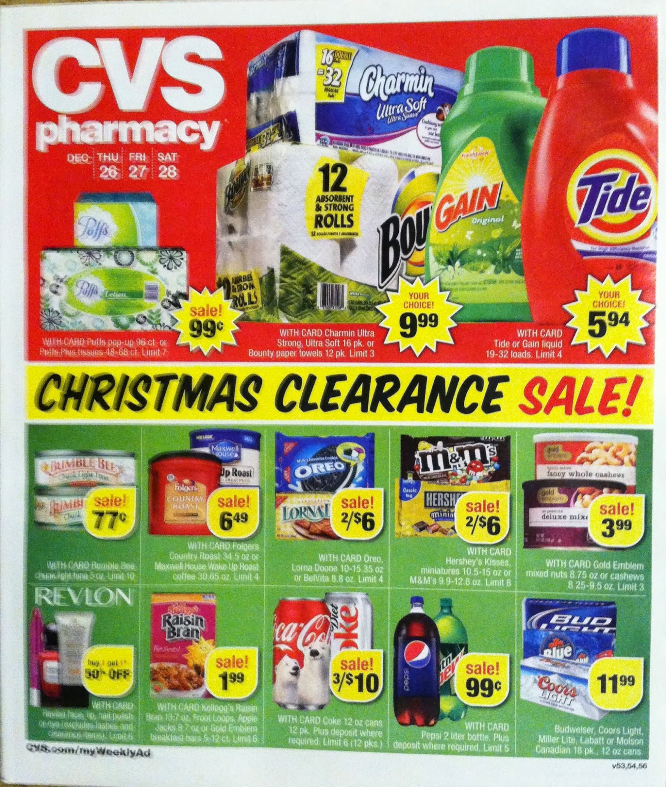 cvs ad scan preview for the post christmas cvs ad dec 26 28 - Cvs Christmas Clearance