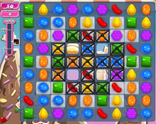 Nivel 50 de Candy Crush Saga