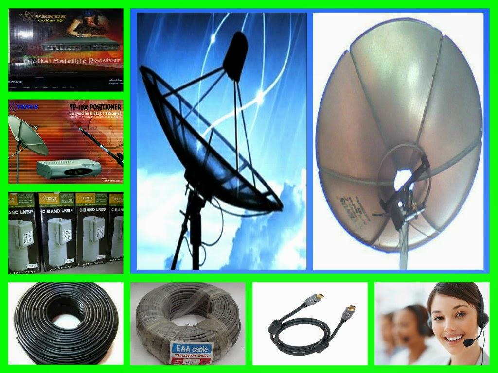 Jasa pasang baru antenna parabola digital venus bebas iuran pemasangan di wilayah Jakarta Barat