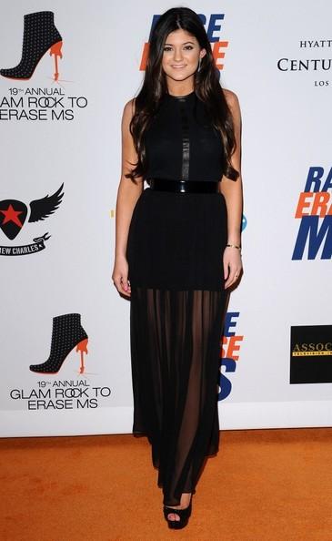 Kylie Jenner Evening Dress