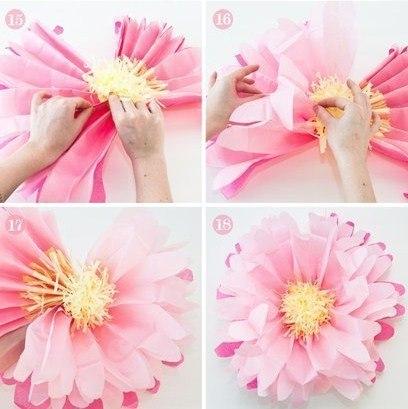 OUR LIFE: Бумажный цветочек