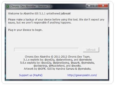 untethered jailbreak iPhone OS 5.1.1