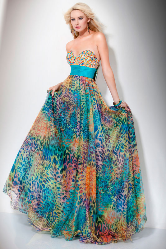 Funky long prom dresses - Dressed for less