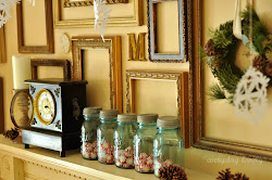 {Christmas Mantel}