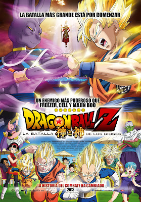 Dragón Ball Z: La batalla de los dioses 3gp / Mp4 en Audio Latino