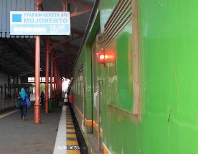 Mojokerto railway station