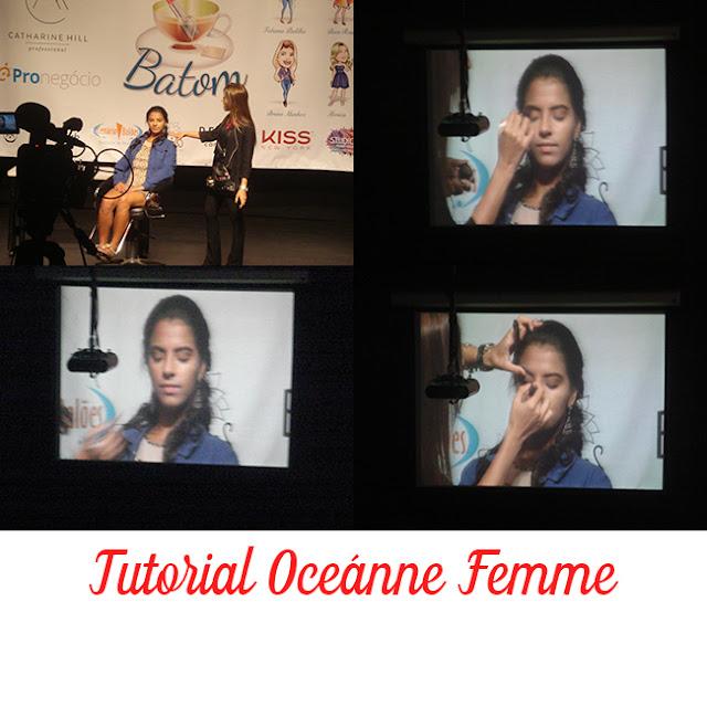 Eu fui ao Chá de Batom promovido pela Arco ìris Cosméticos - foto 3 - Tutorial Oceánne Femme