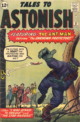 Tales to Astonish #37, Ant-Man v the Protector