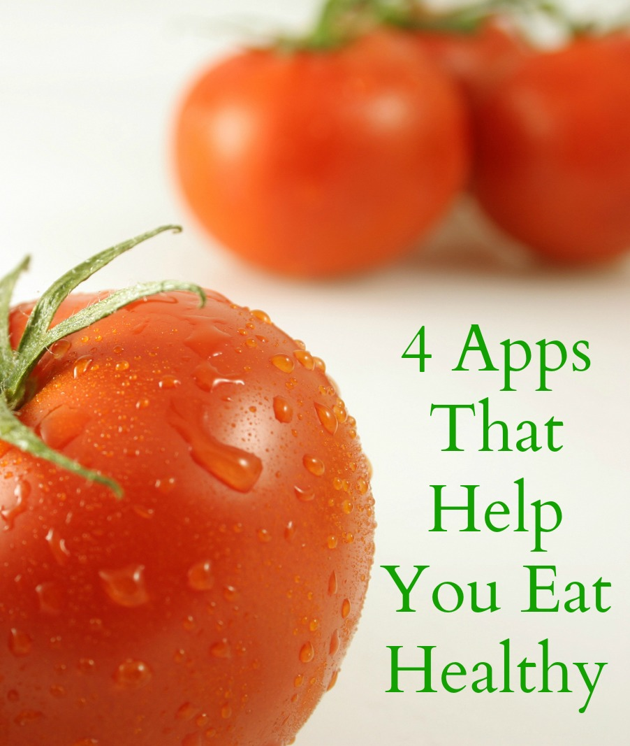 4 Apps that make healthy eating simple to do.
