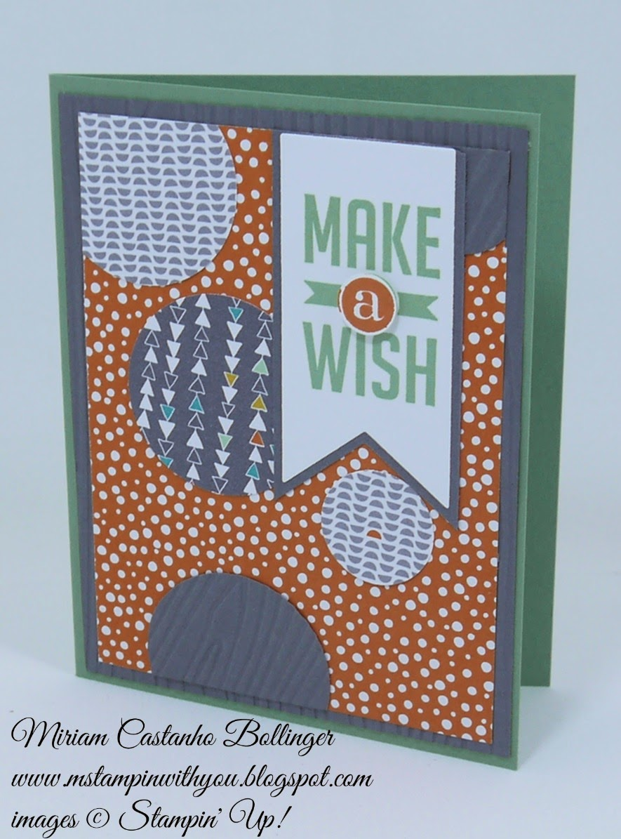 Miriam Castanho Bollinger, mstampinwithyou, stampin up, demonstrator, ppa229, confetti celebration dsp, perfect pennants, banner framelit, su