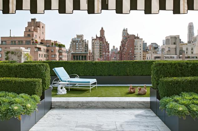 Des jardins sur le toit for Jardin sur le toit