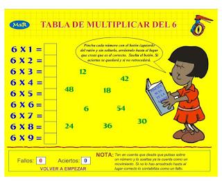 http://www3.gobiernodecanarias.org/medusa/eltanquematematico/Tablas/seis/practica6_p.html