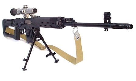 Different Variant Of Dragunov Sniper Weapon System Of Pakistan Army