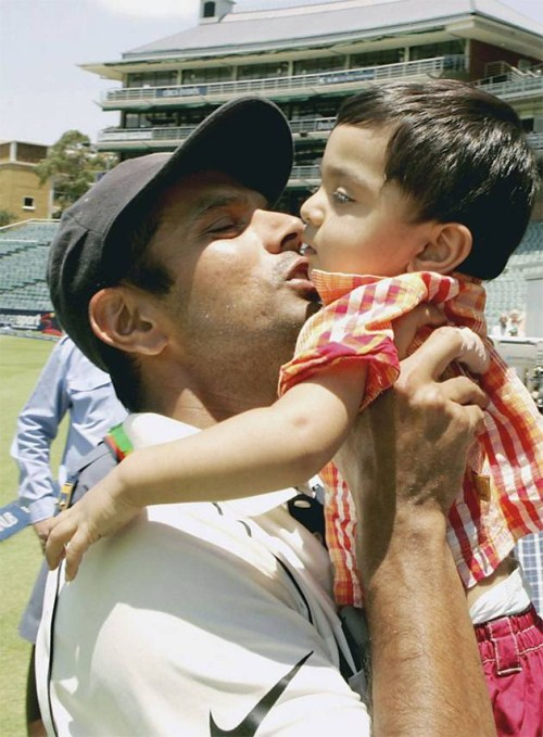 World's Most Top Cricketers With Their Kids Seen On www.coolpicturegallery.us
