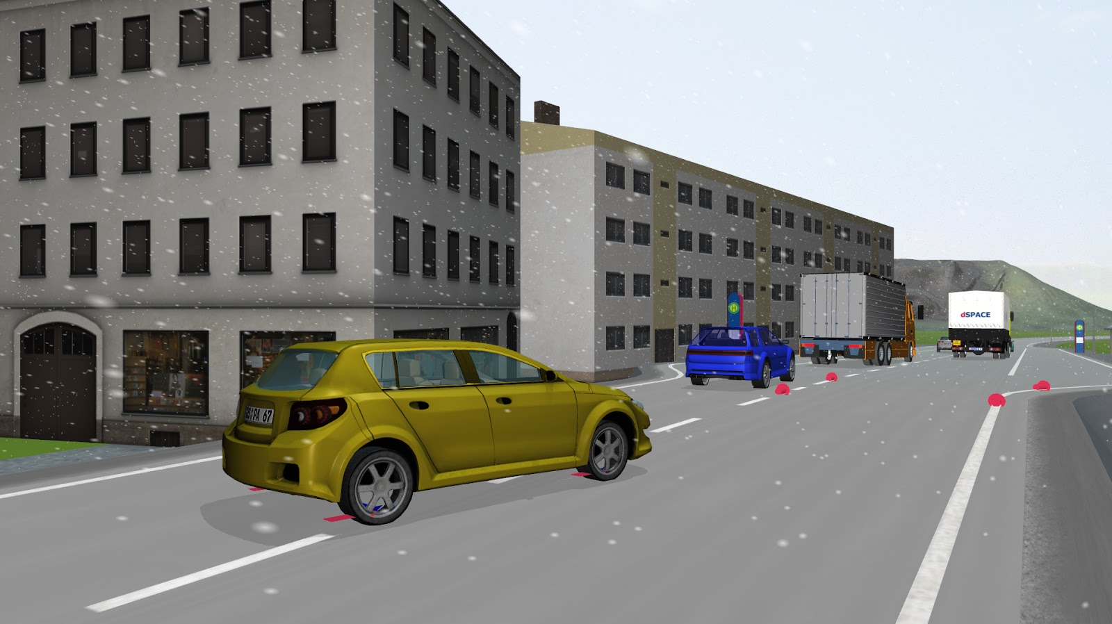 voiture du futur un logiciel de simulation r aliste chez. Black Bedroom Furniture Sets. Home Design Ideas