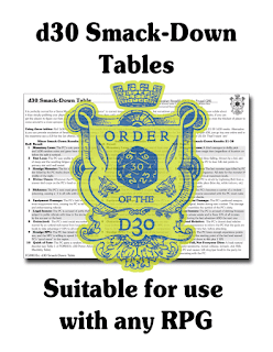 FGM031c: Smack-Down Table (Free d30 Table) Patreon Location