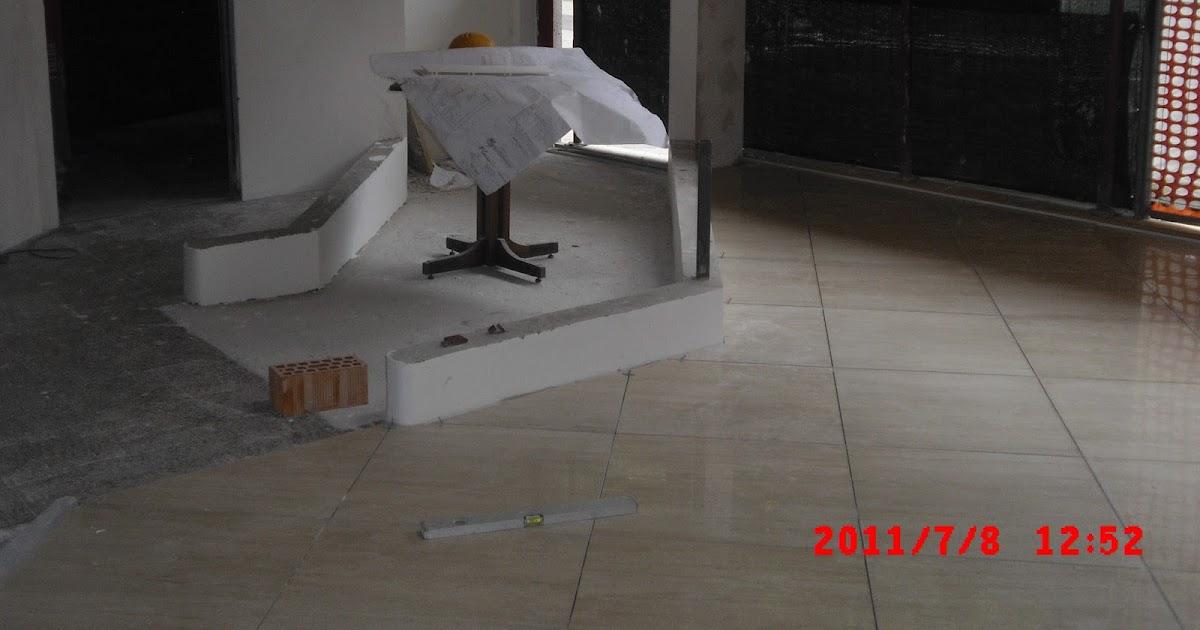 Nuovi pavimenti e rivestimenti in gres porcellanato - Messa in opera piastrelle ...