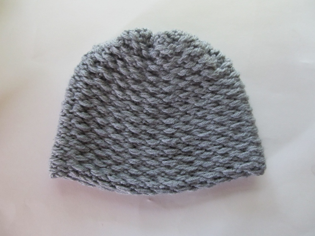 This Mama Knits Garter Stitch Ear Flap Hat