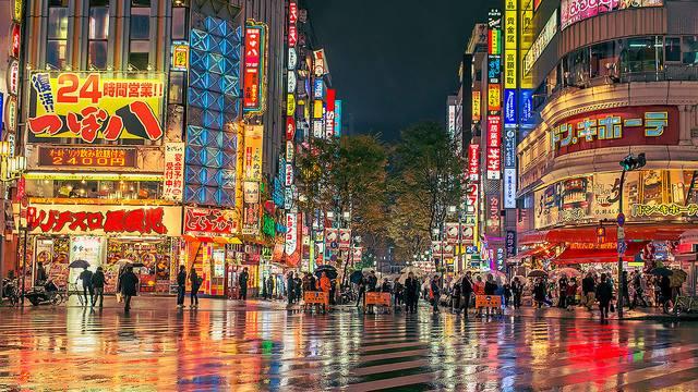 Thủ đô Tokyo Nhật Bản thành phố lạ lùng nhất thế giới