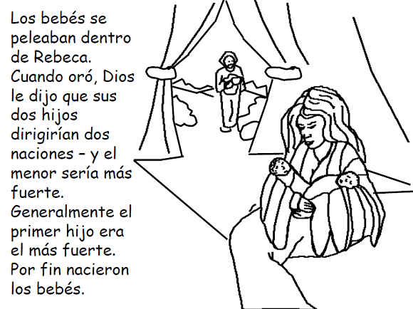 Imagenes Cristianas Para Colorear: Dibujos Para Colorear De Isaac y ...