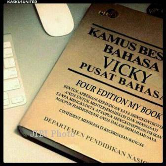 VickyBulary - Kamus Besar Bahasa Vicky Prasetyo Terlengkap
