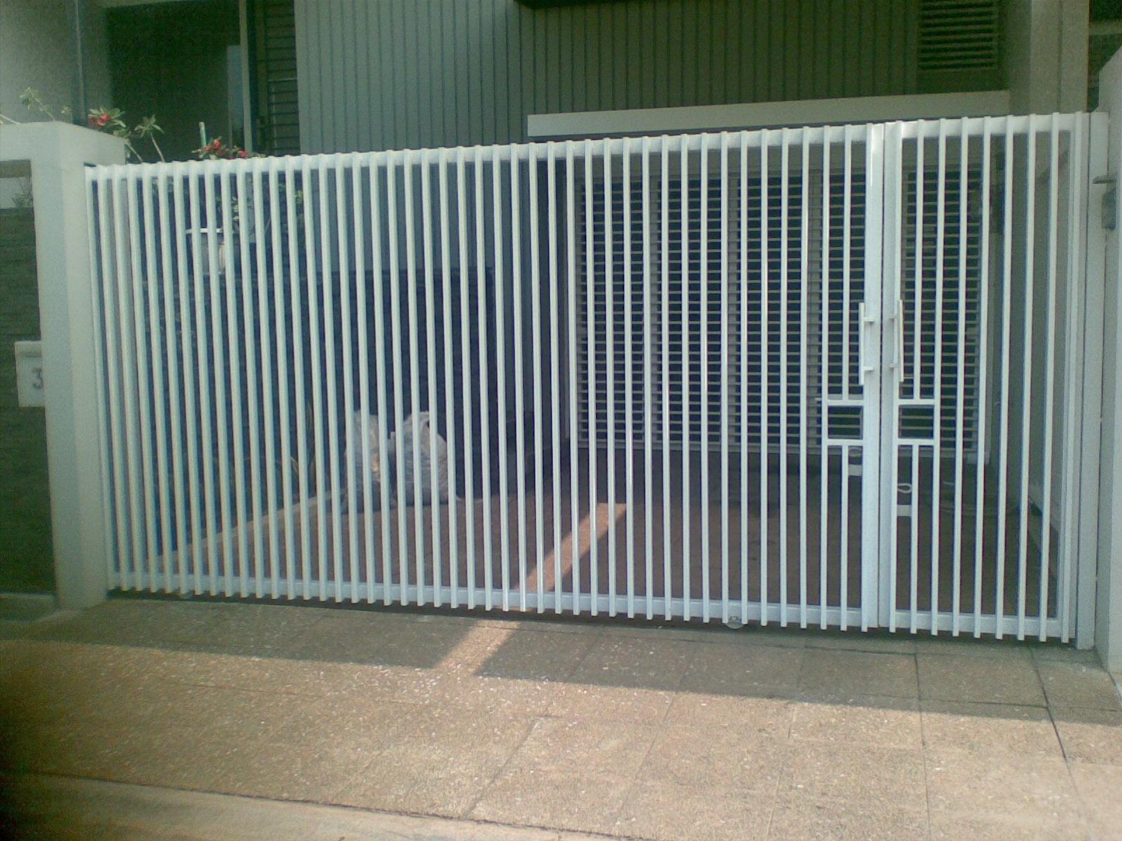 pagar rumah minimalis putih pagar rumah minimalis batu alam pagar