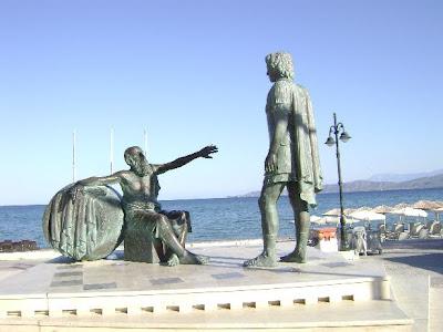 Οι ατάκες του Διογένη και του Μέγα Αλεξάνδρου στην μεταξύ του συνομιλία..