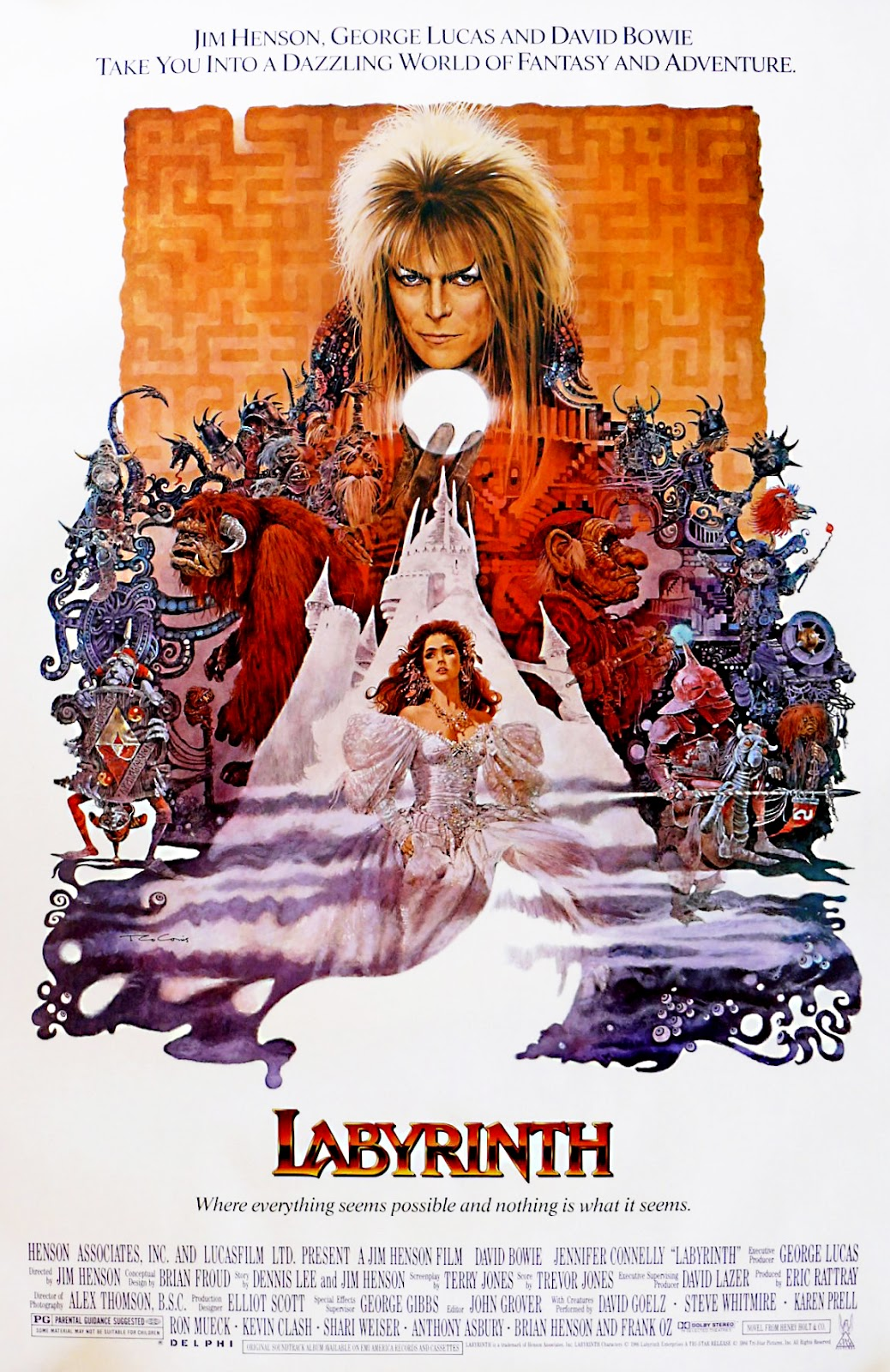 Labyrinth (1986) | Labyrinth (1986) | Pinterest Labyrinth 1986