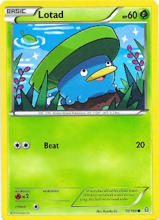 Lotad Primal Clash Pokemon Card