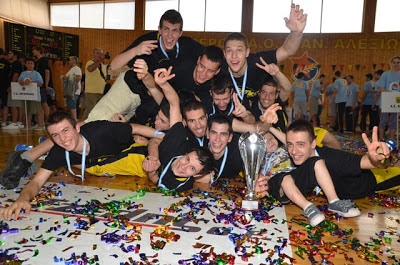 ΠΑΝΕΛΛΗΝΙΟ ΕΦΗΒΩΝ : Eκτός βάθρου ο Πανιώνιος , δίκαια πρωταθλητής Ελλάδας στους έφηβους ο Άρης 89-80 τον Παναθηναϊκό