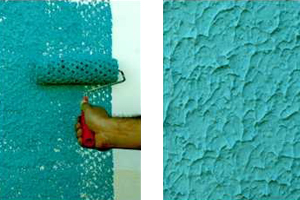 Ropa elite ltima moda tinta texturizada como aplicar for Pintura texturada para exterior