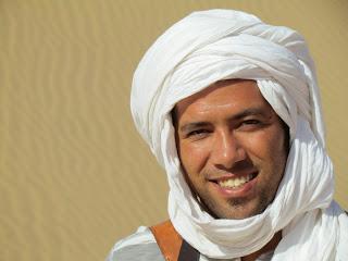 We worden naar goed Berber gebruik gastvrij onthaald door Lahcen Baha, die officieel als gids is aangesteld van het natuurpark Souss Massa