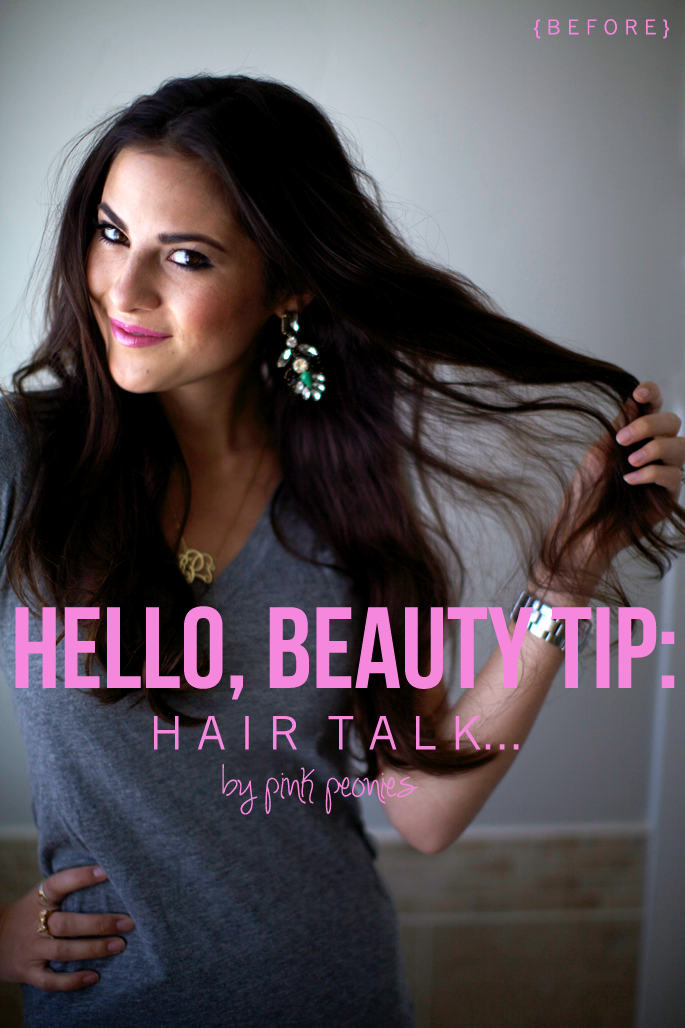 Hello Beauty Tip Pink Peonies By Rach Parcell