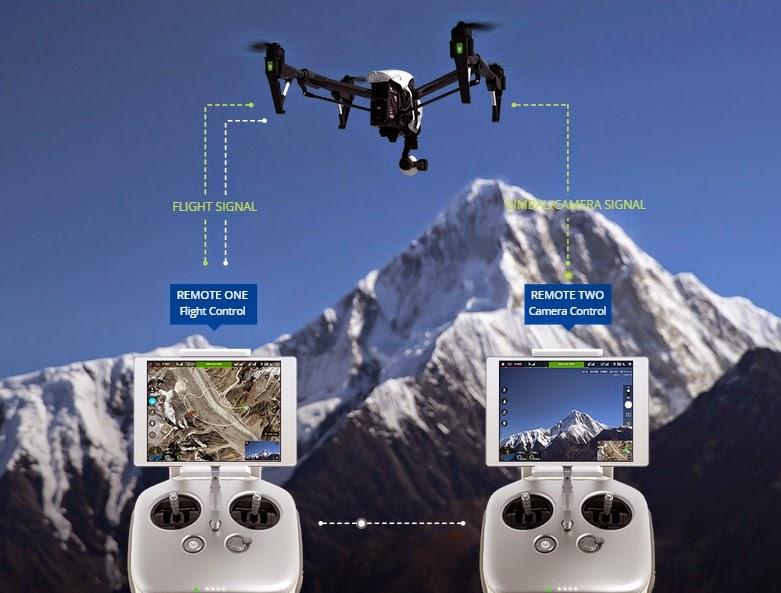 Tecnologia de ponta: DJI apresenta drone que filma com resolução 4K